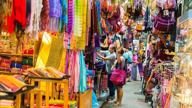 Street Shop at the Chatuchak Weekend Market
