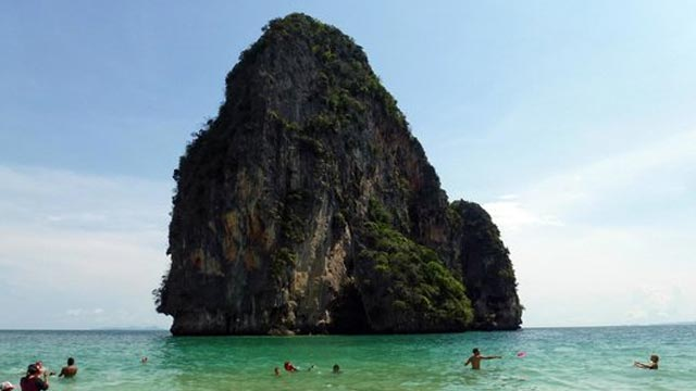 Swim at Phra Nang Beach