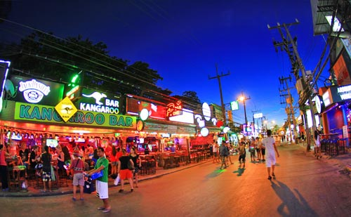 Bangla Road in Patong Beach