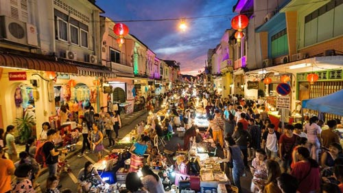 Night markets in Phuket