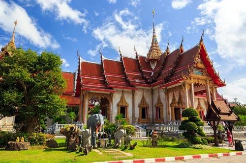 Phuket temples and Wat Chalong