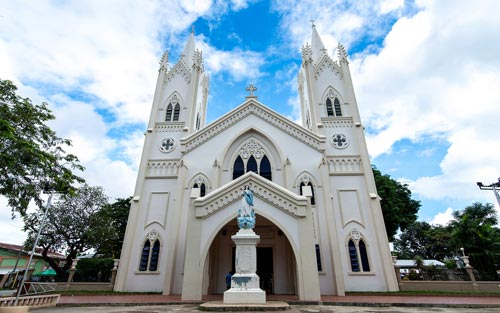 Pray at Immaculate Conception Cathedral