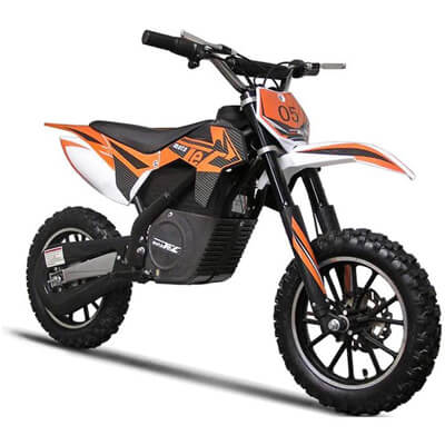MotoTec Electric Motocross Dirt Bike Kid Motorcycle