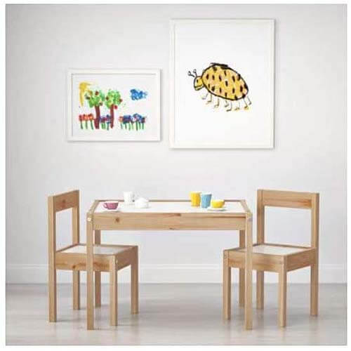 IKEA Children's Kids Table & 2 Chairs Set Furniture - Best Kids Table and Chair Sets