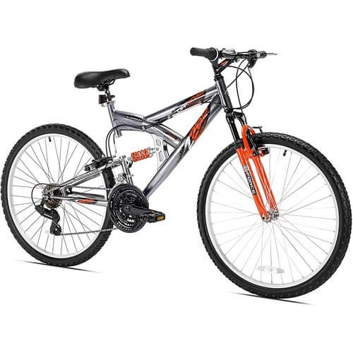 Northwoods Aluminum Full Suspension Bike