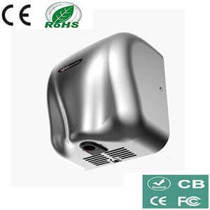 AjAir 2 Pack Heavy Duty Commercial High Speed Automatic Hot Hand Dryer
