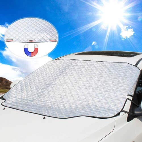 UBEGOOD Car Windshield Ice/Snow Cover, Best Windshield Ice and Snow Covers