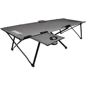Coleman Camping Cot with Side Table