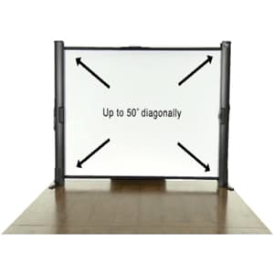 Epson Ultra-Portable Tabletop Projection Screen