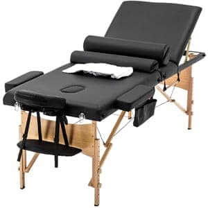 BestMassage table adjustable 3 fold 84 inch
