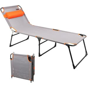 PORTAL Adjustable Lounger Beach Bed Cot