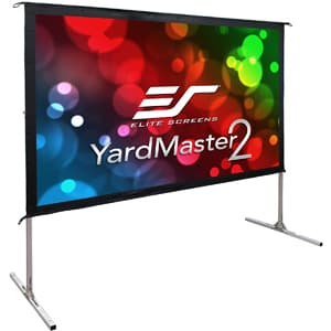 Elite Screens Yard Master 2 Portable Fast Folding Projector Screen