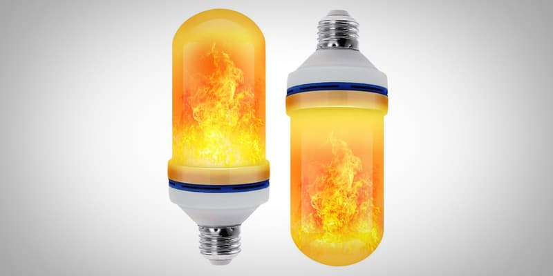 The Best LED Flame Effect Light Bulb