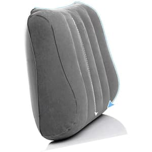 Inflatable Travel Pillow / Lumbar Pillow for Back Pain Relief