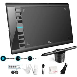 UGEE M708 10x6 Inch Graphic Tablet