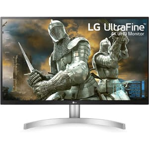 LG 27UL500-W 27-Inch UHD (3840 x 2160) IPS Monitor with Radeon Freesync Technology and HDR10, White
